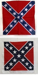 Square Battle Flag with White Border Bandanna