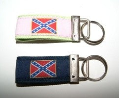 REBEL CANVAS KEY RING