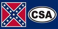 CSA Rebel bumper sticker