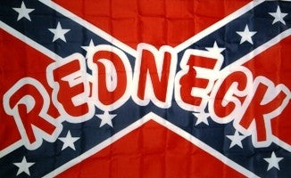 Rebel Redneck 3'x5' Polyester Flag
