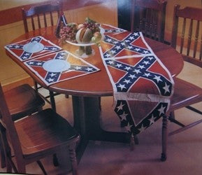 REBEL TABLE RUNNER & PLACEMAT SET