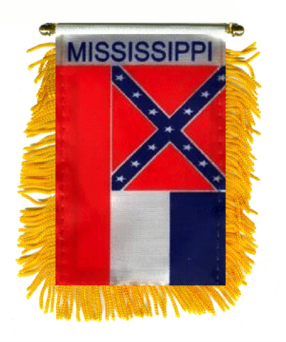 STATE OF MISSISSIPPI MINI BANNER