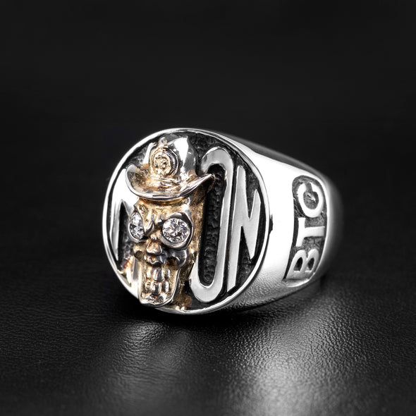1 OF 1 Cowboy To The Moon BTC Ring - Deific