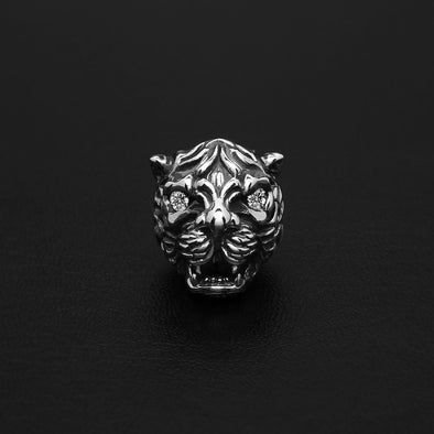 Lucien Tiger Gem Bead