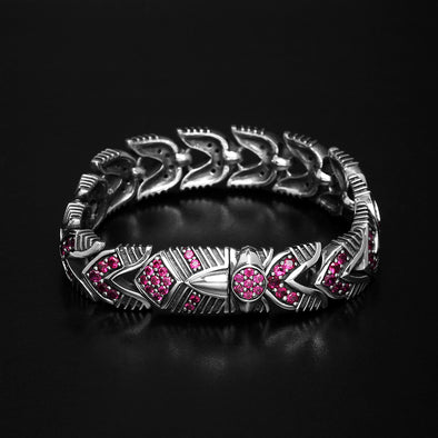 Mighty V-Twin Ruby Bracelet 1 of 1 - Deific