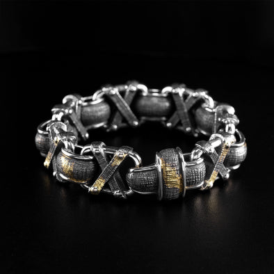 Demolisher 18K Gold Infused Bracelet - Deific