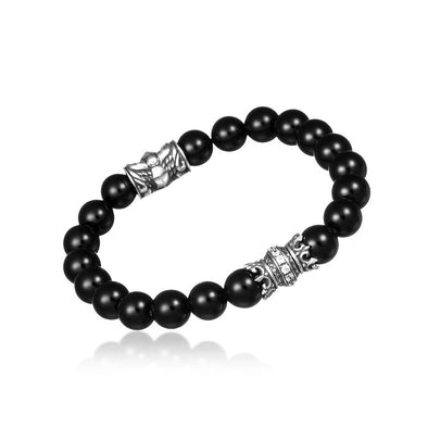 Royal Crown Onyx Bracelet - Deific