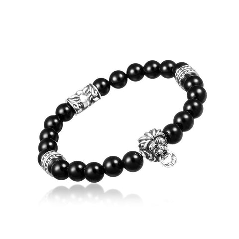 Commodus Lion Onyx Bracelet - Deific