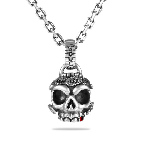 Mr. International Skull Pendant - Deific - 1