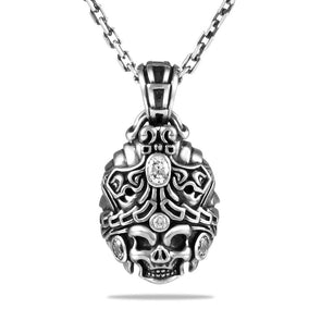 Treasure King Skull Pendant - Deific