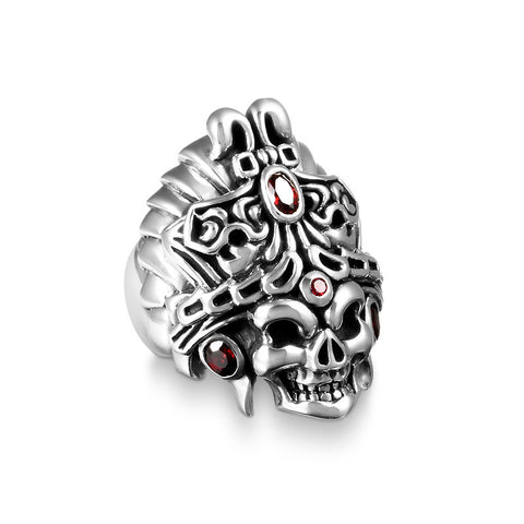 Treasure King Skull Ring - Deific