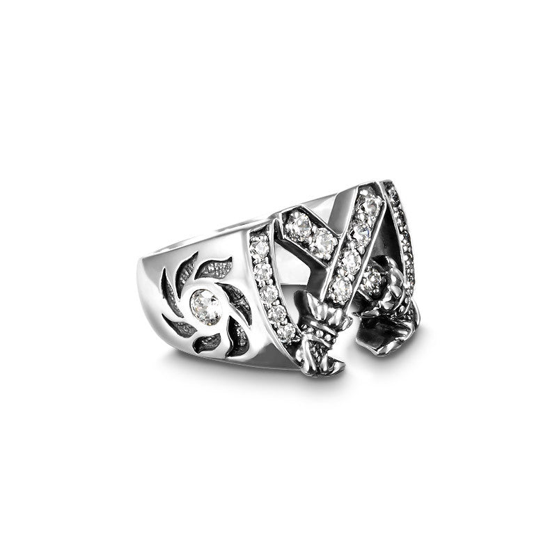 Forever Double Blade Ring - Deific