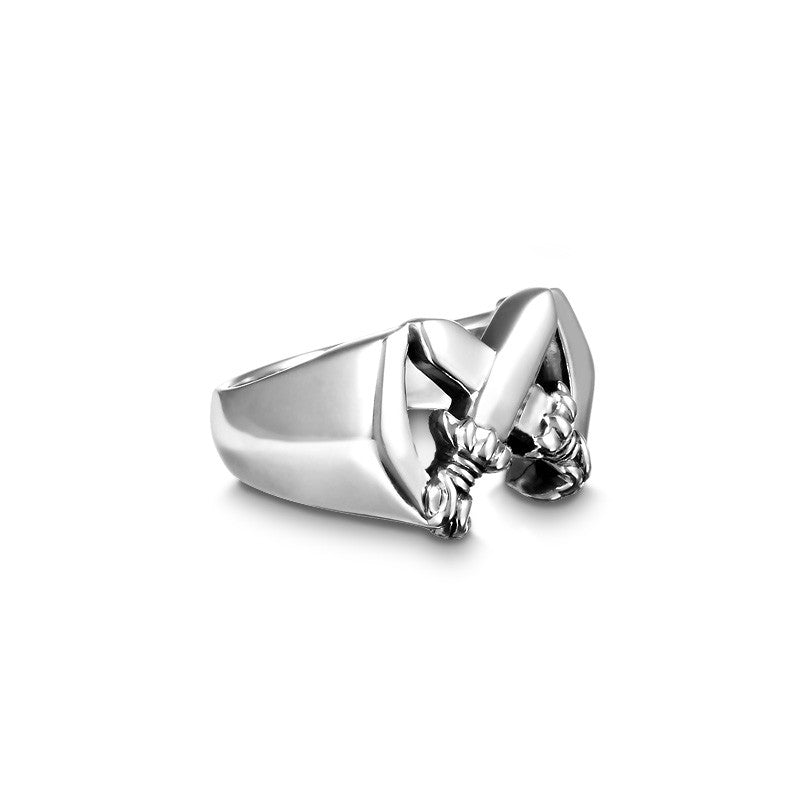 Crossing Lotus Blade Ring - Deific