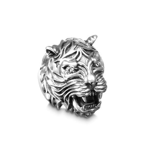Lucien Tiger Gem Ring - Deific