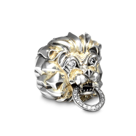 Commodus Lion 18K Infused Ring - Deific
