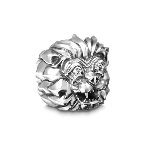 Aseroth Lion Gem Ring - Deific