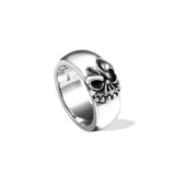 The Skull Band Ring - Deific - 1