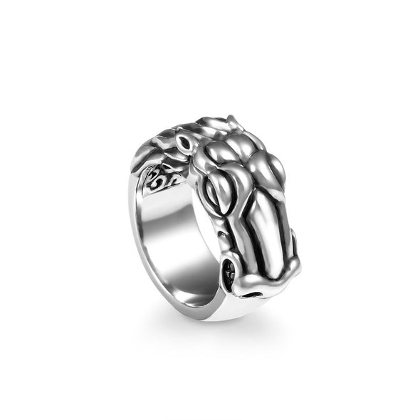 Stallion Band Ring - Deific - 1