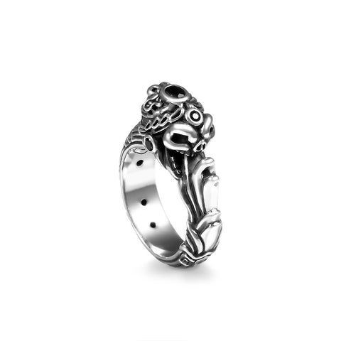 Mayan Ouroboros Treasure Ring - Deific