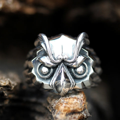 Regal Owl SM Ring - Deific - 1