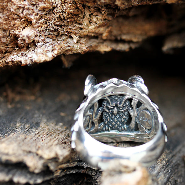 Regal Owl SM Ring - Deific