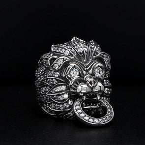 Commodus Lion Jubilee Ring - Deific
