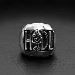 Hodl To The Pirate Skull Grave Ring - Deific