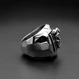 Hodl To The Pirate Skull Grave Ring