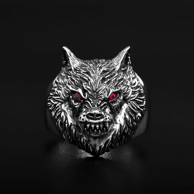 Alpha Wolf SM Ring - Deific