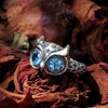 Starry Night Owl SM Ring - Deific - 1