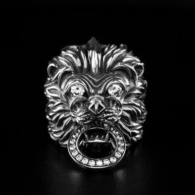 Great Khan Lion Ring