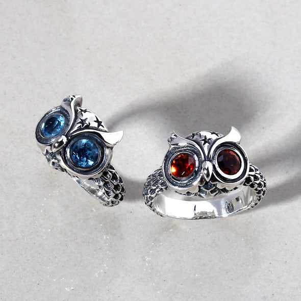 Starry Night Owl SM Ring - Deific - 2