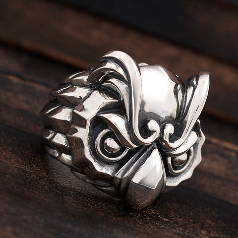 Regal Owl Ring - Deific - 1
