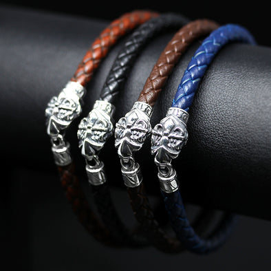 Sentinel Leather Bracelet - Deific