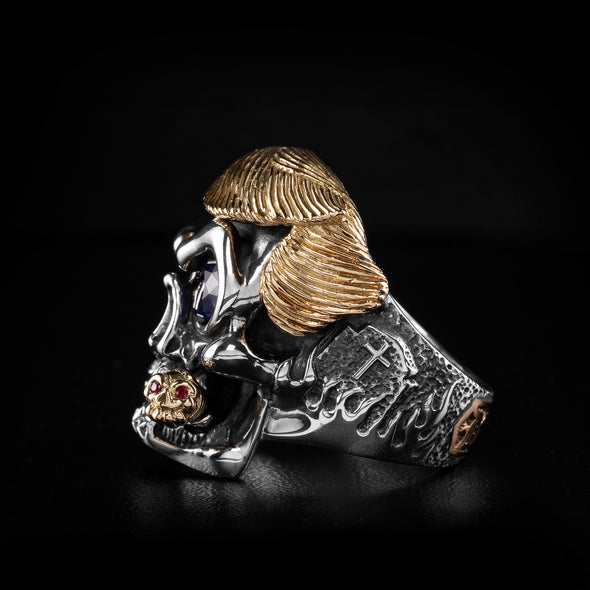 Trump The Dominator Skull Ring 1 of 6 - Deific