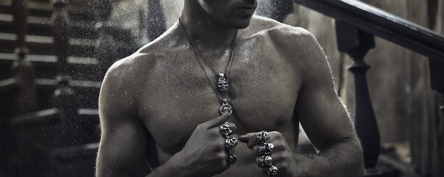Men's jewelry from Burning Soul Collection
