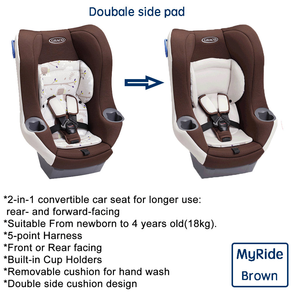 Graco Car Seat Myride (Brown) - Toddlership