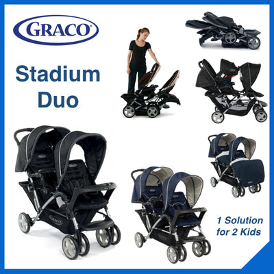 Graco STADIUM DUO Sport Luxe
