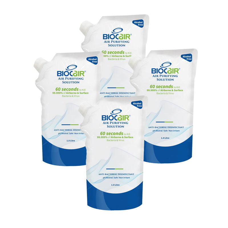 BioCair BC-65 4-Pack Air Purifying Solution