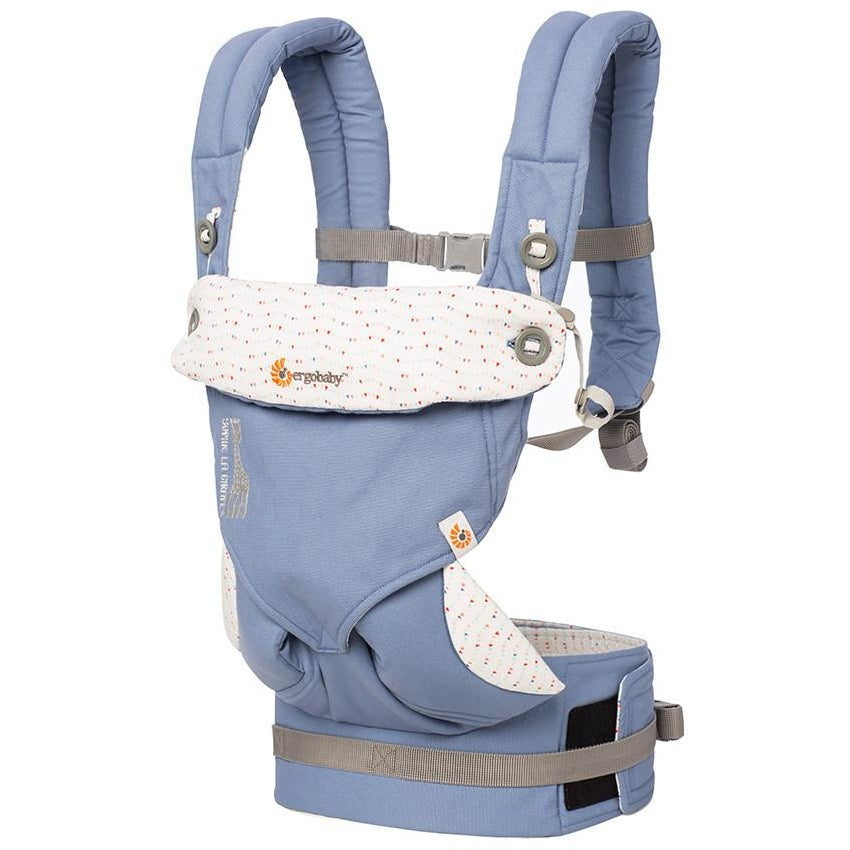 ergobaby four position 360 carrier sophie la giraffe