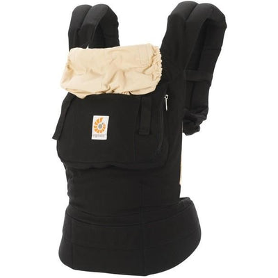 ergobaby original baby carrier black camel