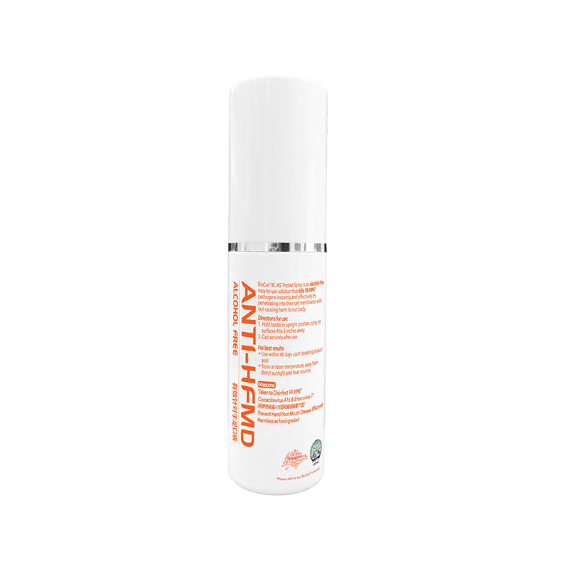 BioCair BC-65 Anti-HFMD BioActive Pocket Spray