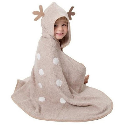 cuddledry organic toddler towel cuddledeer