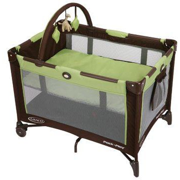 Graco Pack N Play Folding Feet Playard (Zuba)