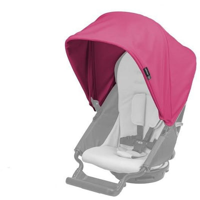 orbit baby G3 stroller sunshade raspberry