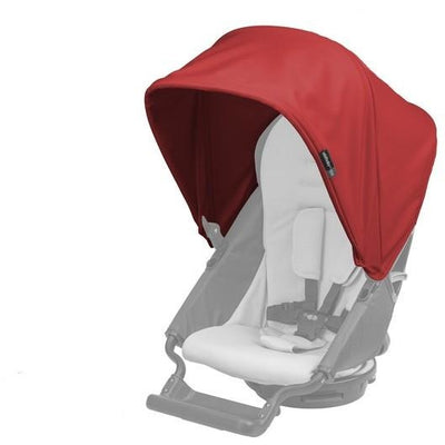 orbit baby G3 stroller sunshade red