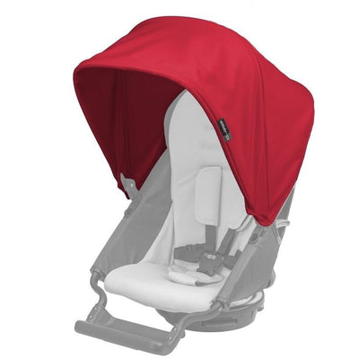 orbit baby G3 stroller sunshade ruby