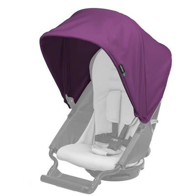 orbit baby G3 stroller sunshade purple plum