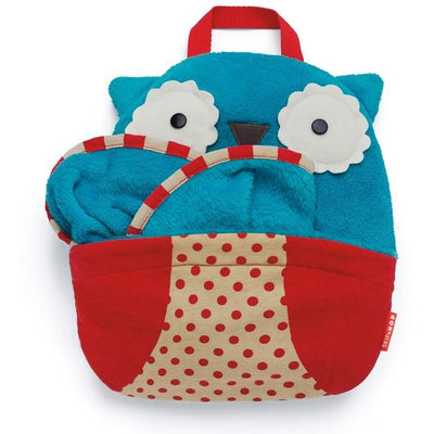 skip hop zoo travel blanket owl