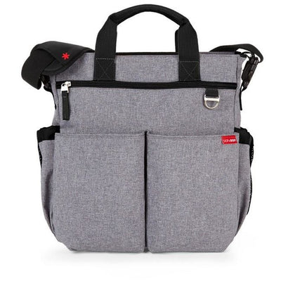 Skip Hop Signature Diaper Bag Heather Grey